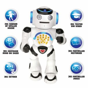 Powerman interaktiv robot - Min første robot